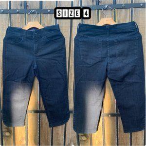 YNXDJ Short Crop Jeans - Size 4